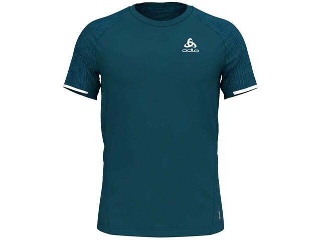 Odlo BL Zeroweight Ceramico Running T-shirt Men teal